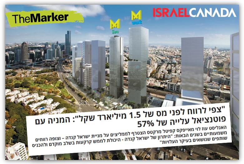 פרויקט מידטאון של קנדה ישראל